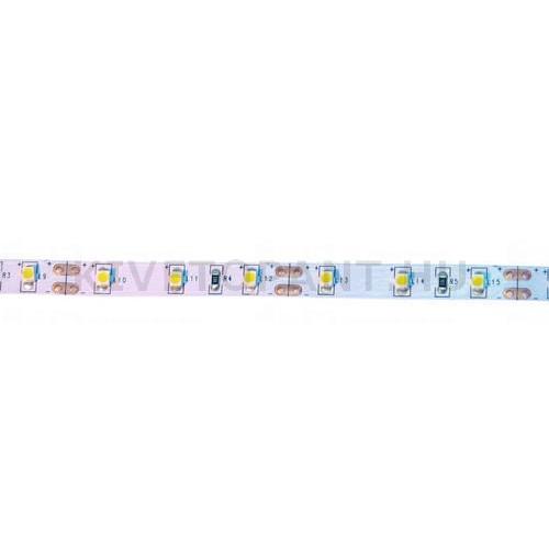 LED szalag  4,8W/m 12V melegfényű IP0