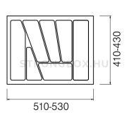 Evőeszköztartó Strong  60/435 (530x435) fehér