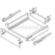 StrongBox fiókszett H 86/450mm szürke