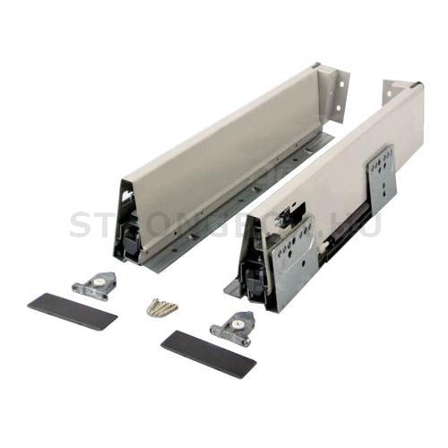 StrongBox fiókszett H140/500mm szürke