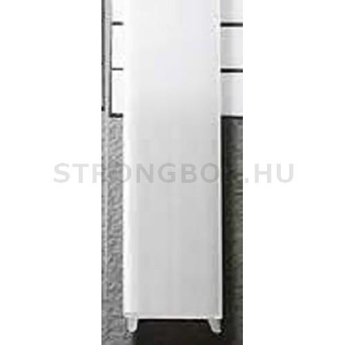 LED alu profíl takaró bepattintós fehér 2m