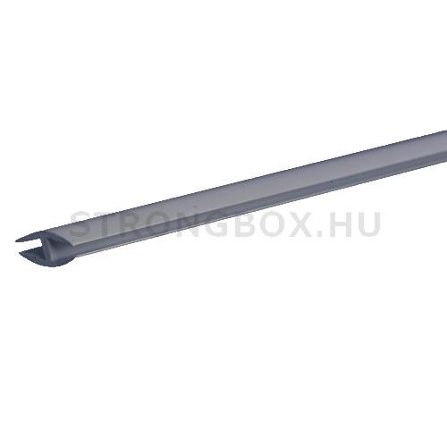 Evőeszköztartó csatlakozó profil 1200mm ezüst