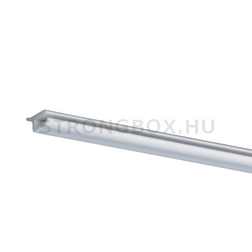 Evőeszköztartó szélső profil 2x500mm fehér