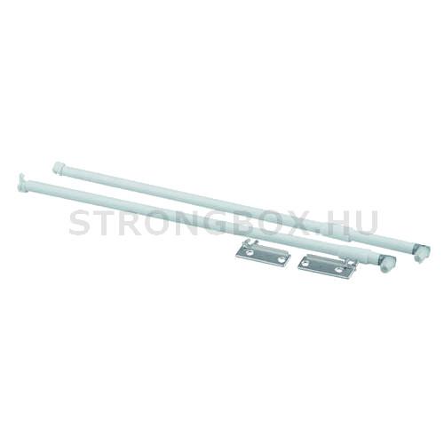 Strong fém fiókoldalhoz hosszanti magasítókorlát 500 fehér