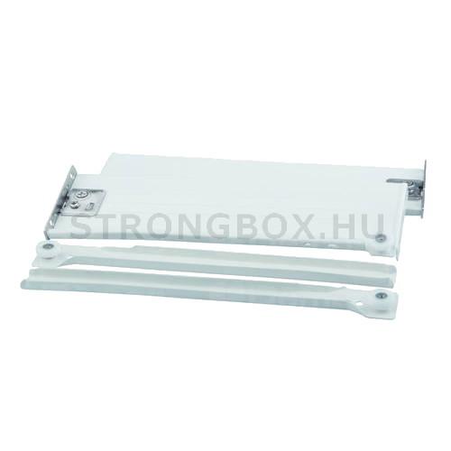 Strong fém fiókoldal H118/400 fehér