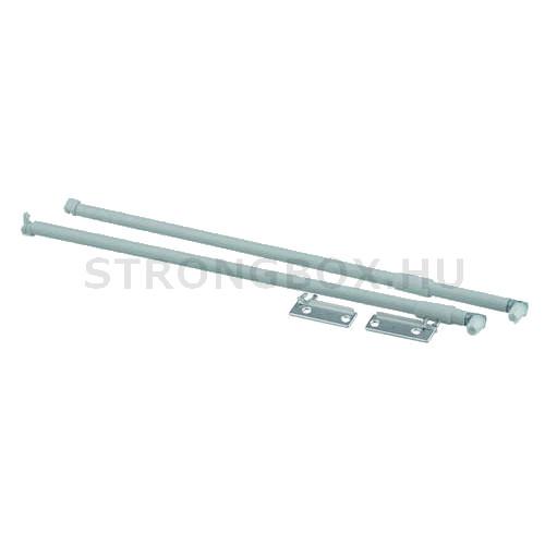 Strong fém fiókoldalhoz hosszanti magasítókorlát 450 szürke