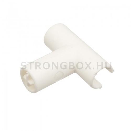 """StrongBox magasító korlát """"T"""" elem fehér"""