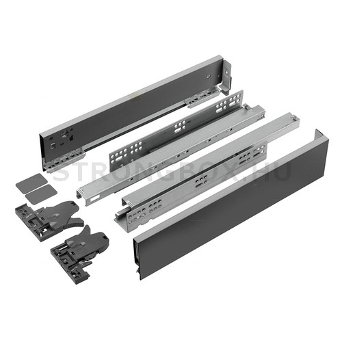 StrongMax fiókszett  89/400 mm szürke