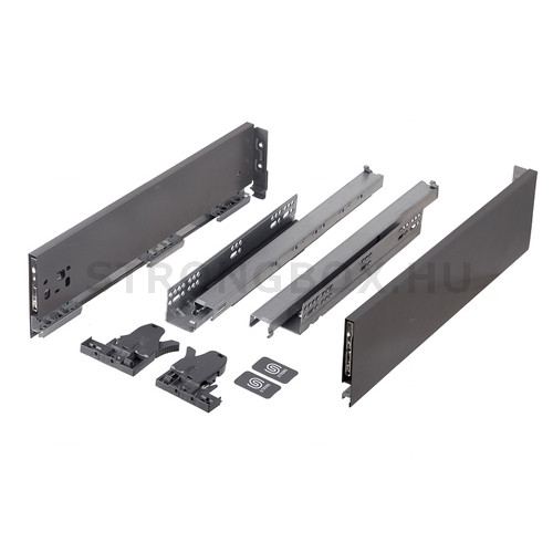 StrongMax fiókszett 121/550 mm szürke