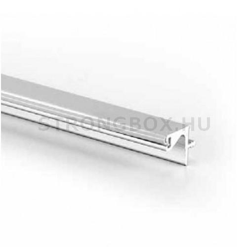 Fogantyú profil Gola felső szekrényre 3,9m alumínium gumi ütközővel