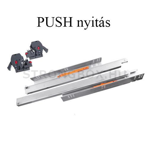 StrongRide Push fióksín 400 teljes kihúzású szinkronizált